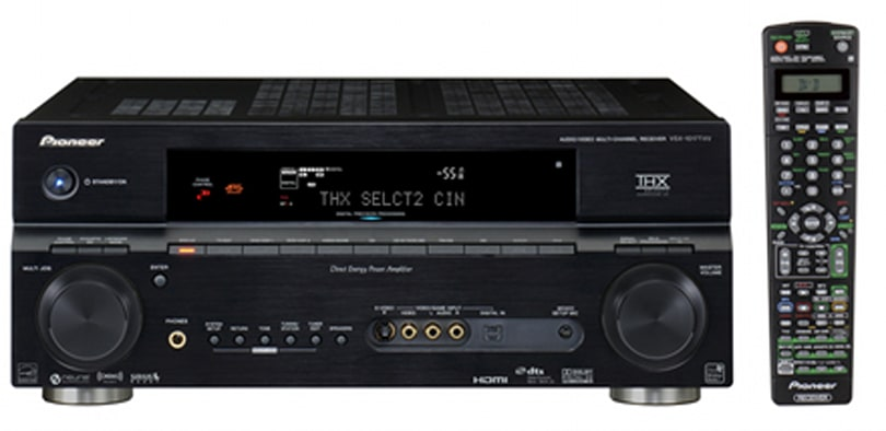 Pioneer's 2007 A/V receivers range: big on XM / Sirius satellite radio