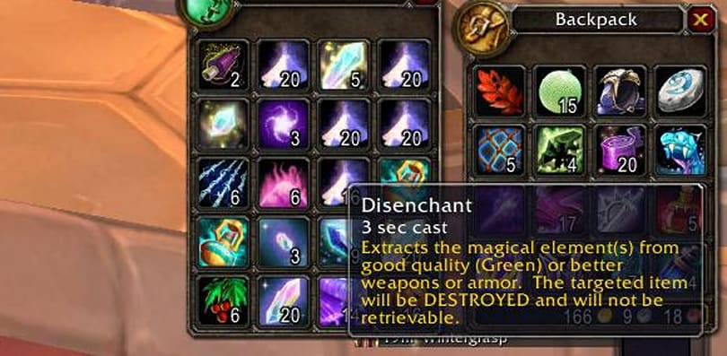 Breakfast Topic: Disenchanting BoEs in dungeon runs