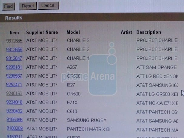 "Mysterious ""Project Charlie"" shows up in AT&T's system"