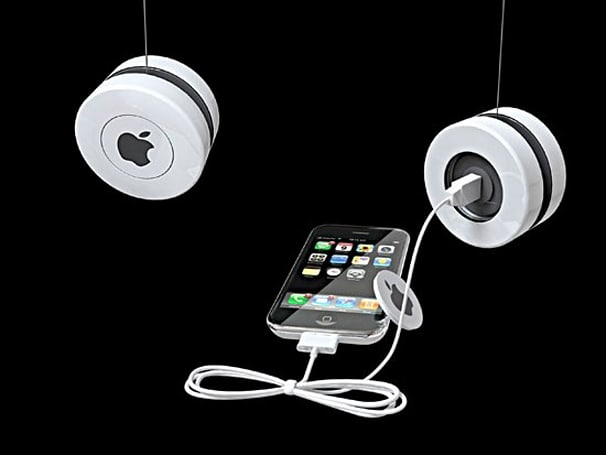 iYo YOYO Induction Charger lets you enjoy your tunes sans AC
