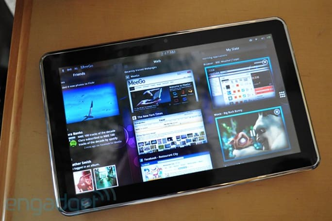 MeeGo Moorestown-powered tablet preview