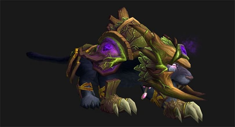 Mists of Pandaria Beta: Incarnation druid cat forms appear