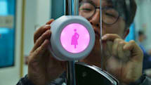 Beacons help pregnant women get seats on Korean trains