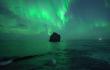 Drohne filmt Polarlichter in Echtzeit