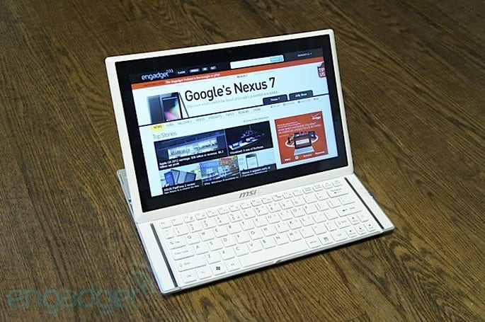 Hands-on with MSI's S20 Slidebook, a $1,099 Windows 8 convertible Ultrabook (update: video)