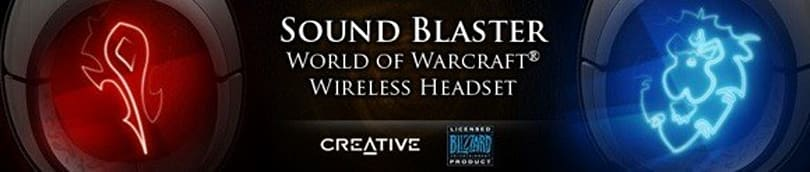 Enter to win your own Creative WoW Wireless headset