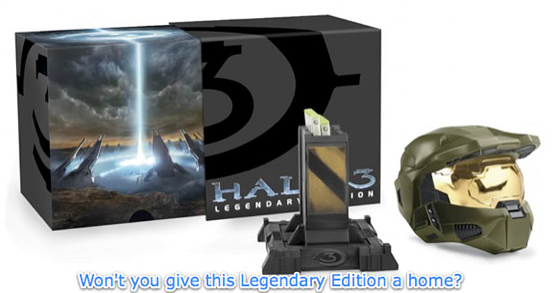 This is what it has come to: Halo 3 Legendary for $30