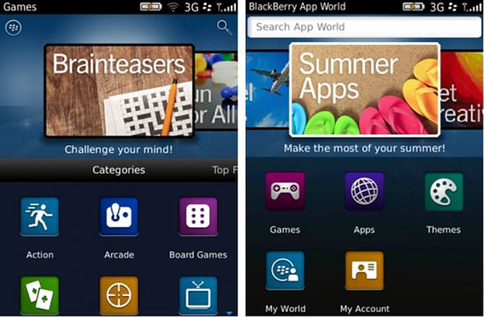 RIM BlackBerry App World 3.0 beta adds home screen search, social media features