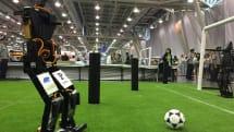 THORwin humanoid machine wins robotic soccer championship