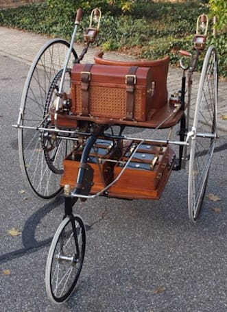 German museum recreates 130-year-old EV, looks like a steampunk Segway