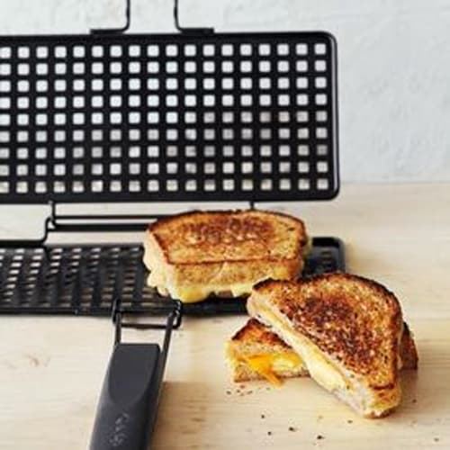 Grilled Cheese Grilling Basket with Recipe Book