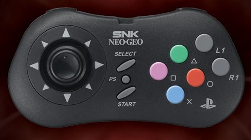 SNK releases Neo Geo pad for PS3