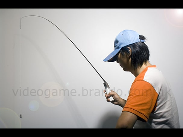 Wii Fishing Pole: so close to too far