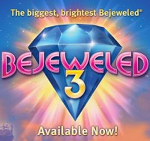Bejeweled 3 out now for Mac