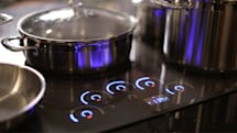 GE's touch-savvy induction cooktops double as griddles and sous vides