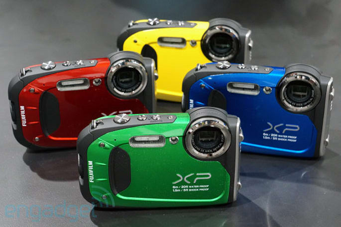 Fujifilm updates its ruggedized lineup with FinePix XP60, we go hands-on