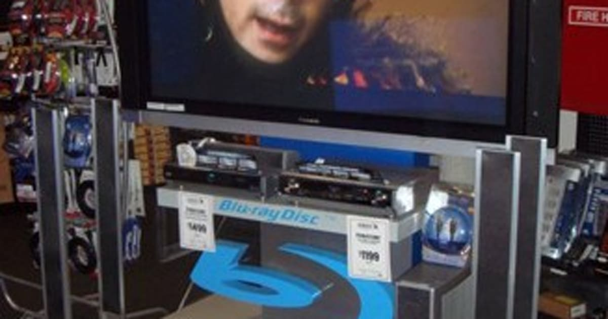 Blu-ray player sales sink as 2008 begins... except for ...