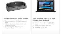 Dell Inspiron Duo and speaker dock up for pre-order at Microsoft Store now, no clue when they'll ship out