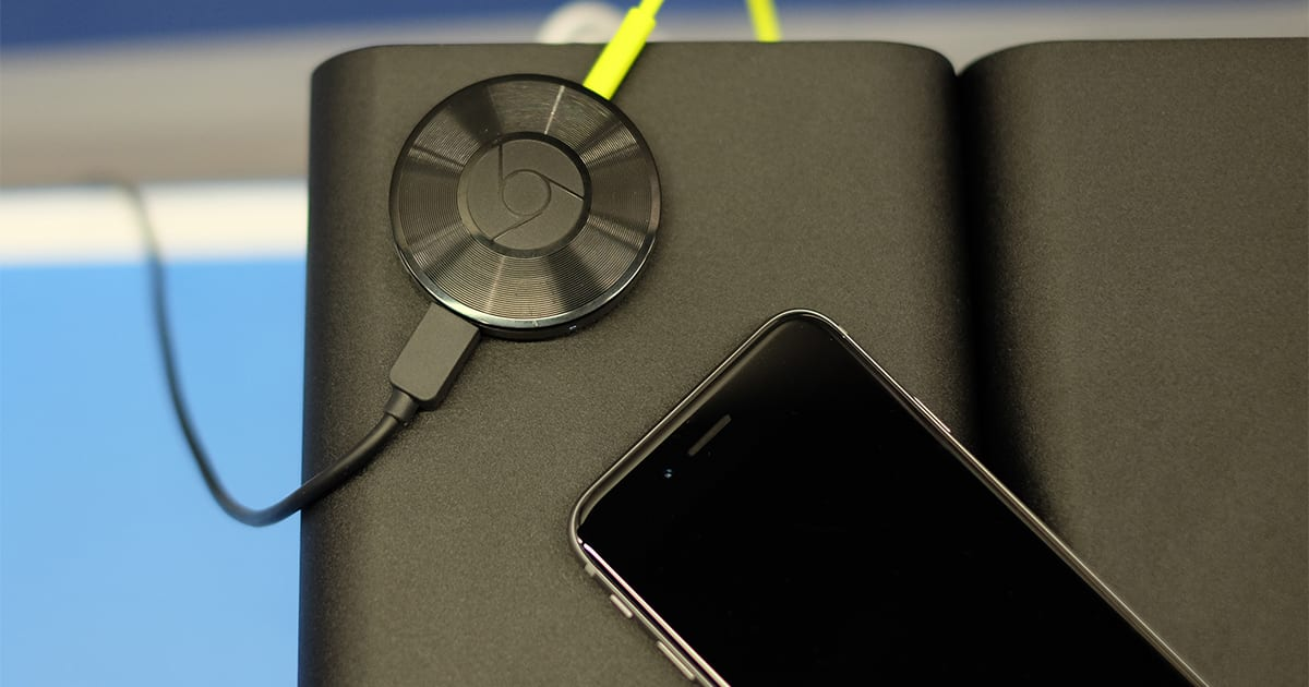 how to connect phone to chromecast