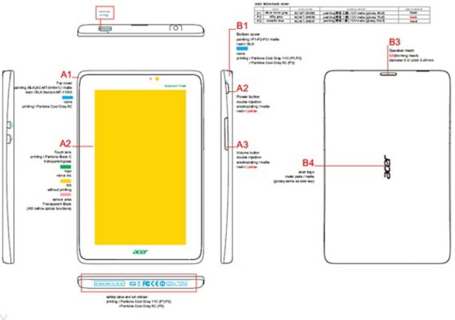 7-inch Acer Iconia Tab A110 lands at the FCC