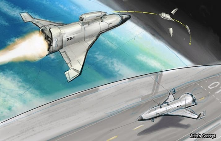 DARPA's XS-1 program aims for an unmanned spaceship with aircraft-like costs