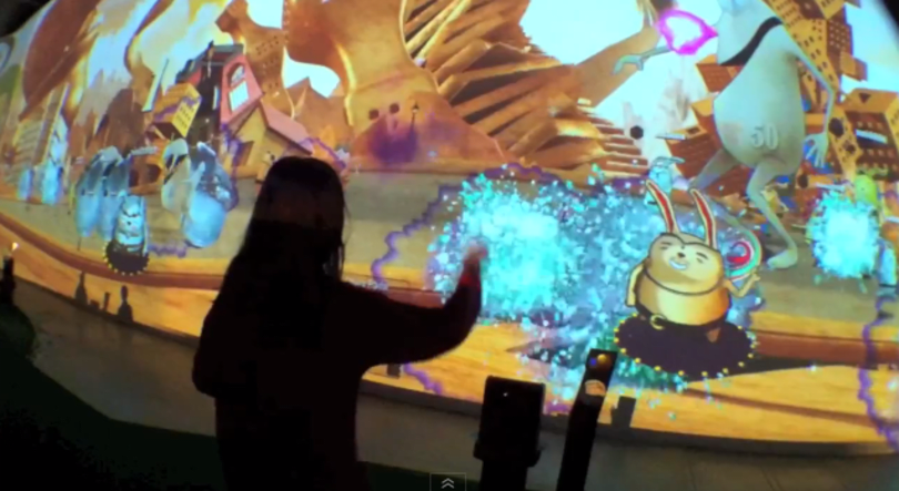 South Korea's Live Park uses RFID and Kinect to bring your Holodeck fantasies one step nearer