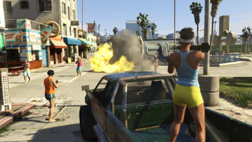 Grand Theft Auto Online's free Beach Bum update launches next week