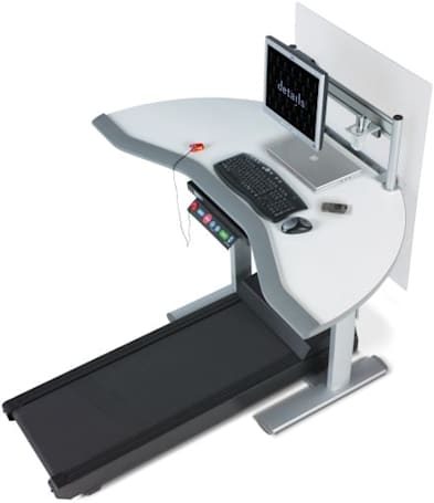 Steelcase's Walkstation marries desk and treadmill
