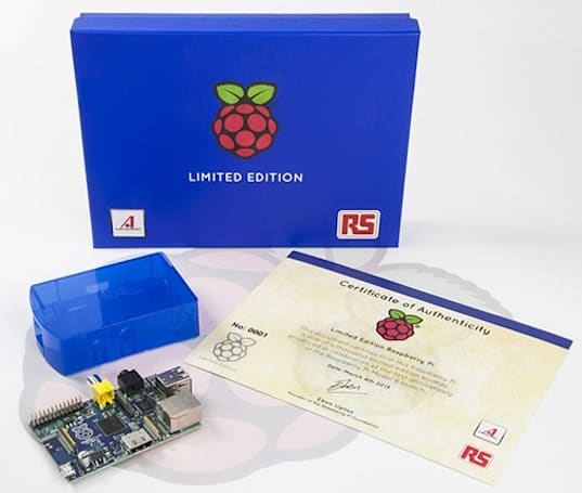 Raspberry Pi coming in limited edition blue, you'll have to win it to own it