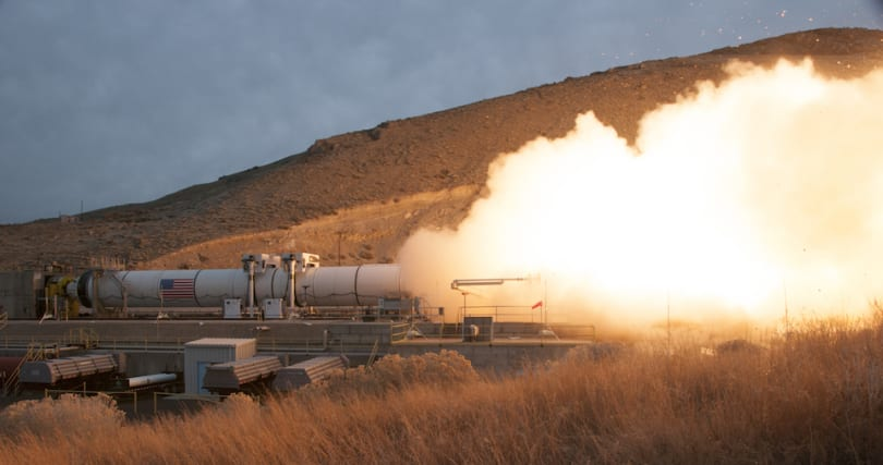 Watch NASA test its most powerful booster rocket ever