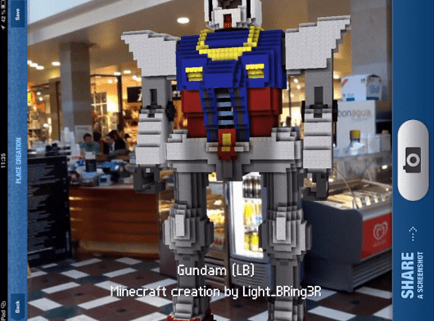 Minecraft Reality AR app takes your game from the screen to the streets