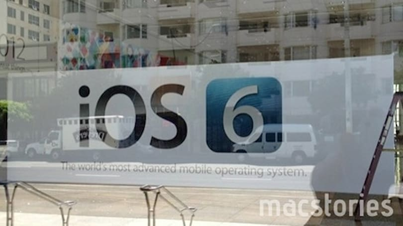 "iOS 6 ""officially announced"" by new WWDC banners"