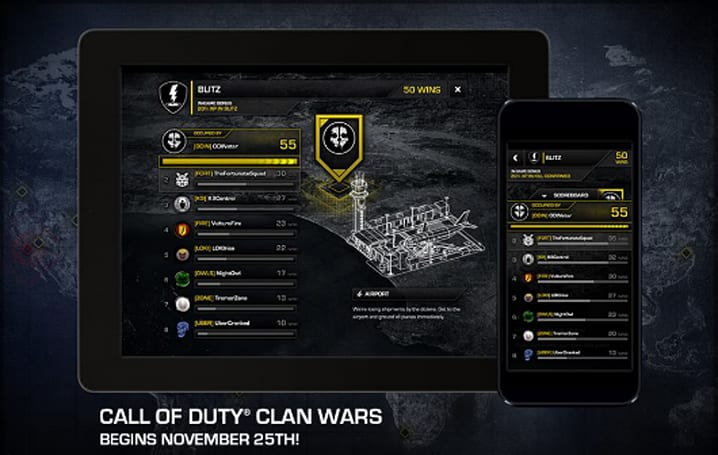Call of Duty: Ghosts 'Clan Wars' metagame starts Monday