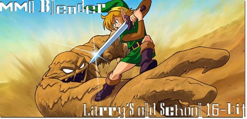 MMO Blender: Larry's old-school 16-bit MMO
