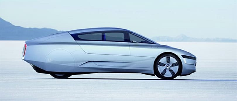 Volkswagen L1 concept is crazy efficient, could ship in 2013