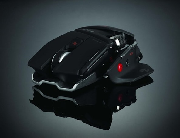 Mad Catz adds mice to Cyborg PC gaming line, (doesn't) blend human and mouse DNA