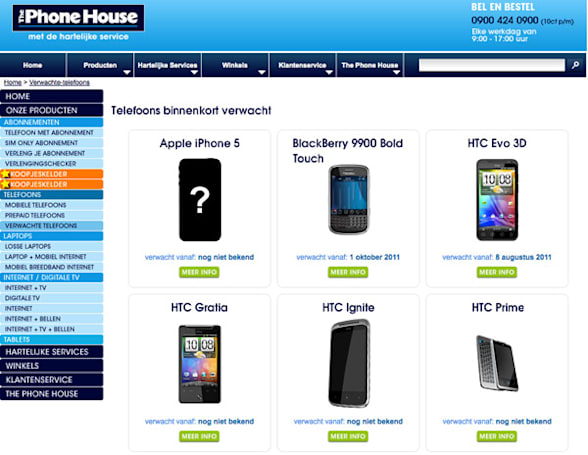 HTC Ignite and Prime surface on Dutch e-tailer, may indeed be coming soon
