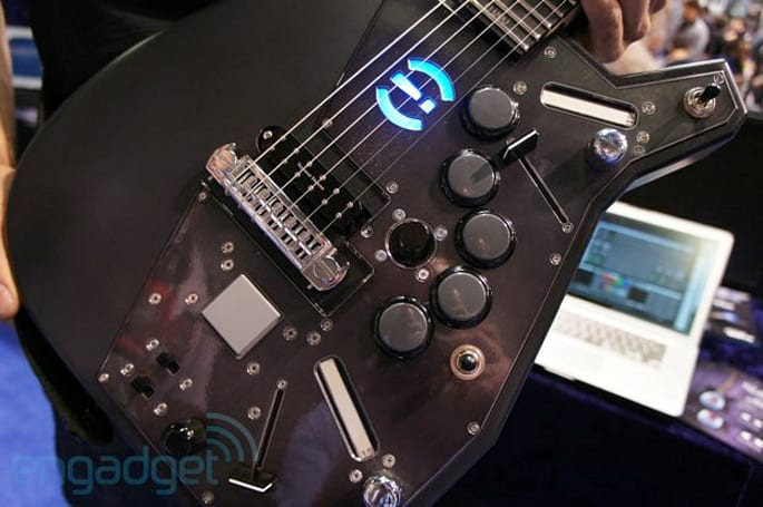 Visionary Instruments intros the Robocaster MIDI hybrid guitar, we go ears-on (video)