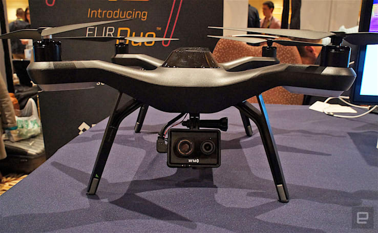 FLIR Duo is a GoPro-size thermal camera for drones