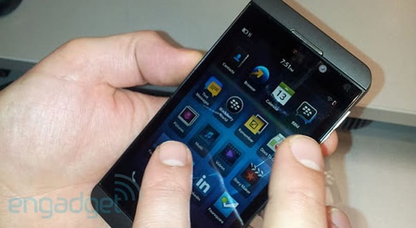 BlackBerry Z10 spotted at retailers prior to BB10 event