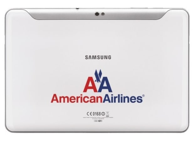 Samsung Galaxy Tab spreads wings, flies to premium seats on American Airlines