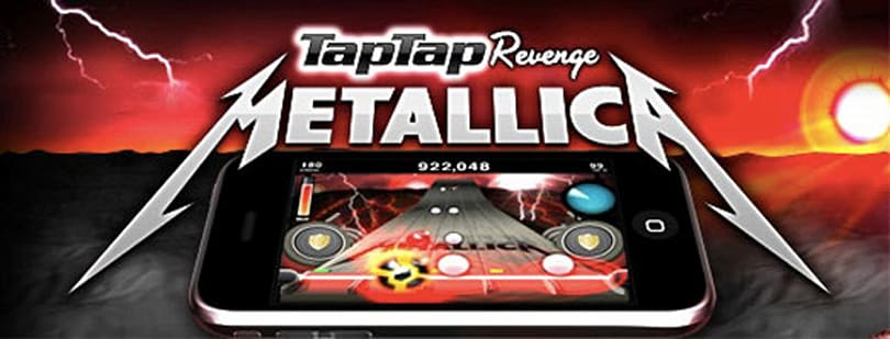 Of Wolf and Tap Tap Revenge: Metallica on iPhone