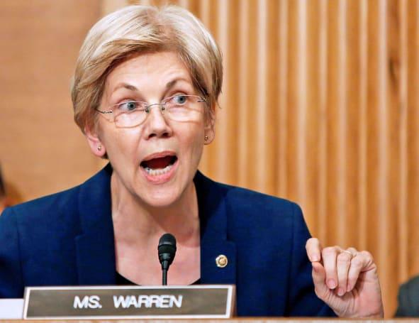 Silenced on the Senate floor, Elizabeth Warren goes to Facebook Live