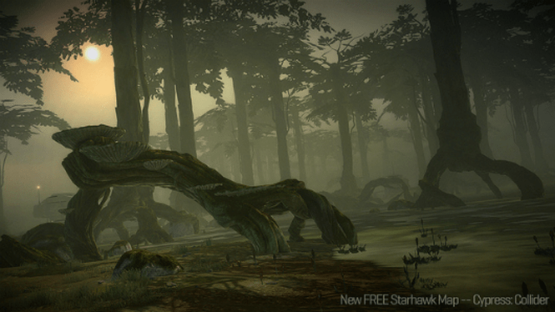 Starhawk 1.02 update adds free 'Cypress' map pack