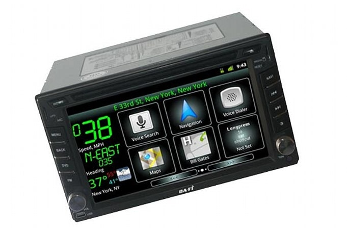 Ca-Fi is an aftermarket Android car stereo that won't fit in your dashboard