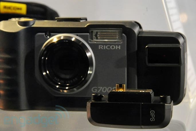 Ricoh's rugged G700SE point-and-shoot does Bluetooth, WiFi, GPS and more (eyes-on)