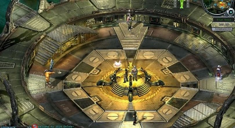 Fight through five new dungeons in 2029 Online