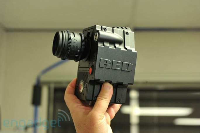 RED Scarlet and Bomb EVF surprise hands-on!