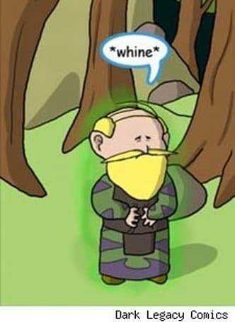 Sunday Morning Funnies: No whiners