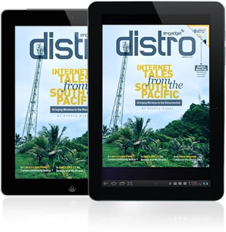 Distro Issue 31: Tales from the South Pacific, Apple's new iPad and the Woz